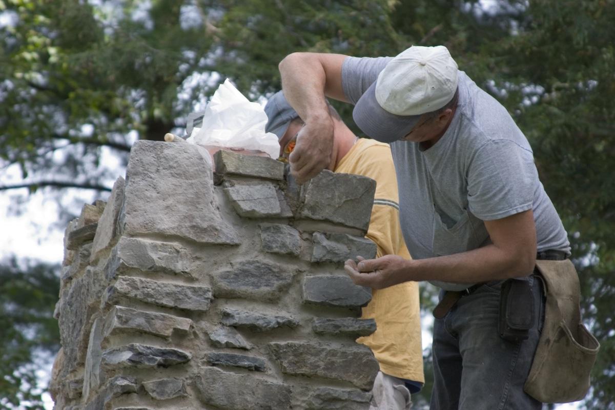 voegen herstellen schoorsteen renovatie